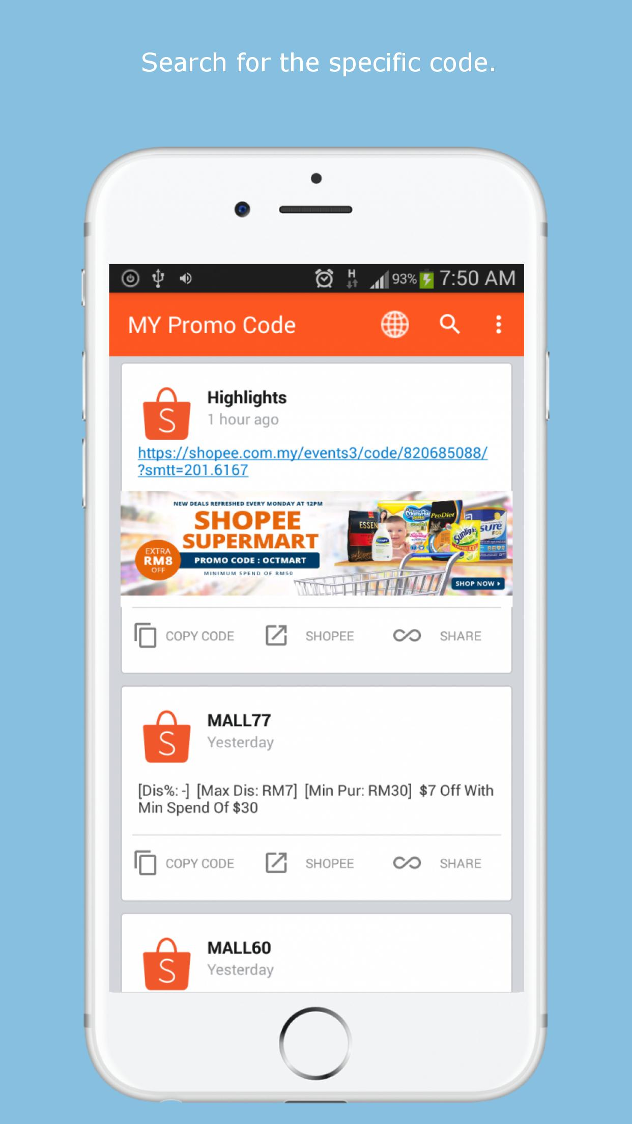 Shopee MY Promo Code for Android   APK Download