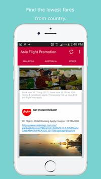Flight Promotion for AirAsia apk screenshot