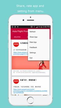 Flight Promotion for AirAsia screenshot 3