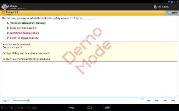 CompMan Maritime Exam Reviewer (Demo) screenshot 1