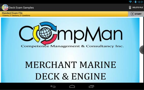 CompMan Maritime Exam Reviewer (Demo) screenshot 3