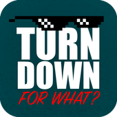 TurnDownfw? with widget free icon