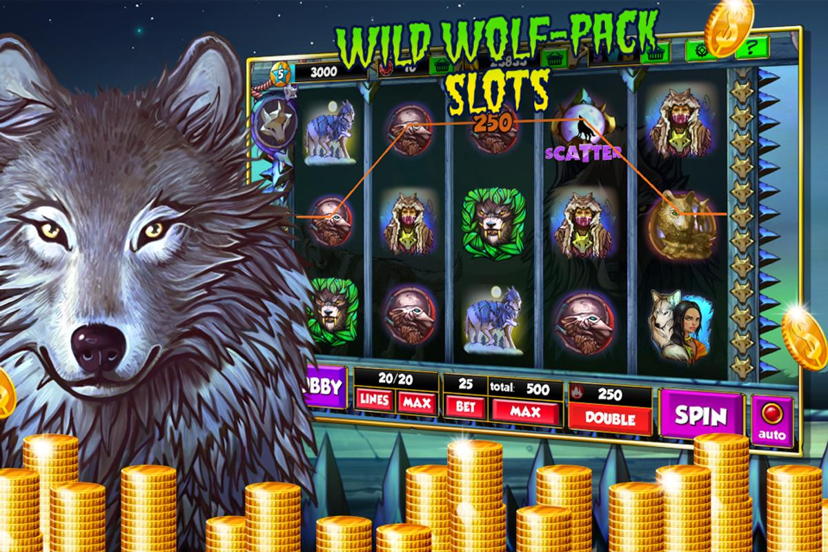 Wild Wolves Slot Machine
