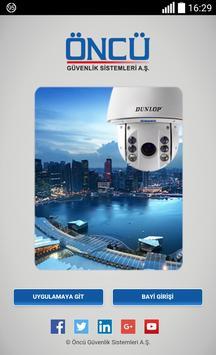 Öncü Güvenlik B2B poster