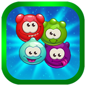 Funny Jelly-Match 3 icon