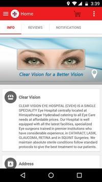 Clear Vision Eye Hospital screenshot 2