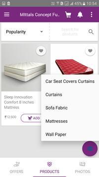 Mittals Concept Furnishings apk screenshot