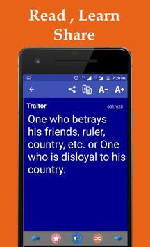 One Word Substitution Offline apk screenshot