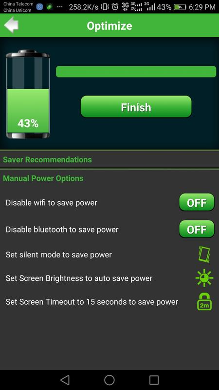 battery saver pro how to turn saving mode off