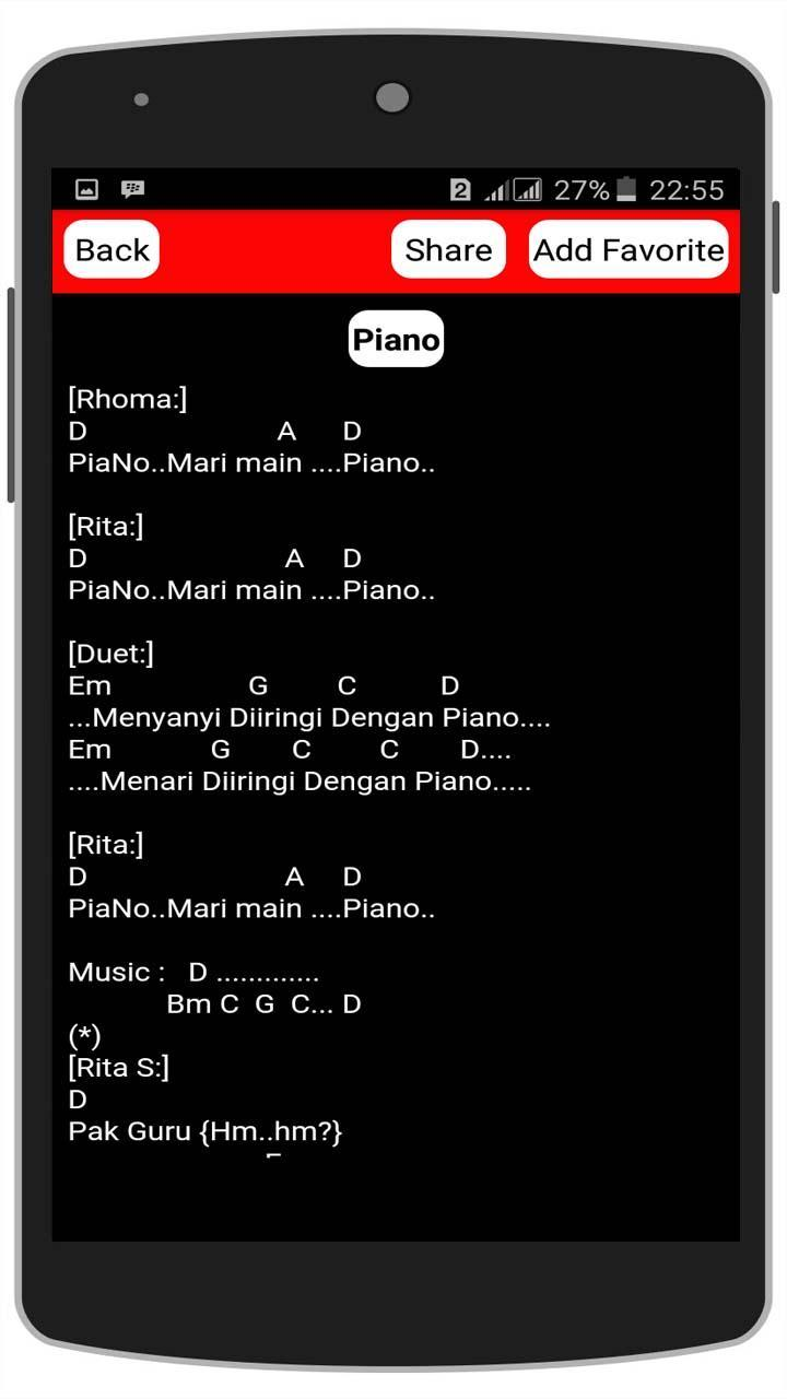 Rhoma Irama Chord Gitar For Android Apk Download