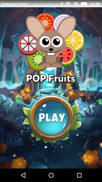 POP Fruits - Snap Same Game ポスター