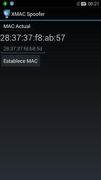 XMAC Spoofer screenshot 1