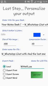 WAtoX screenshot 5