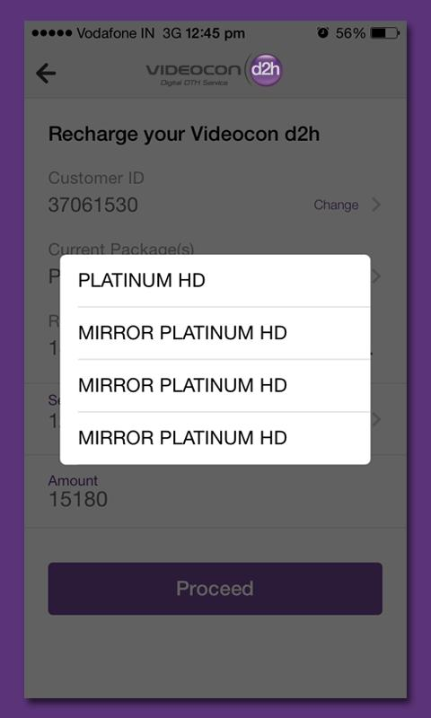 Videocon d2h Recharge for Android - APK Download