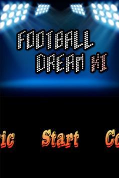 Football Dream XI poster