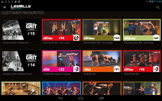 LES MILLS On Demand para Android - APK Baixar