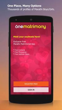 Marathi - OneMatrimony poster
