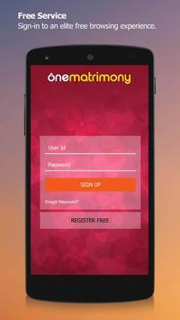 Marathi - OneMatrimony apk screenshot