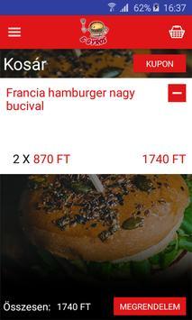 Óriás Hamburger & Gyros Center apk screenshot