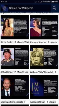 1 Minute Wiki screenshot 3