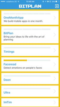 BitPlan - Organise your ideas poster