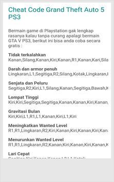 Kode PS3 Terbaru screenshot 1