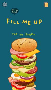 Fill me up poster