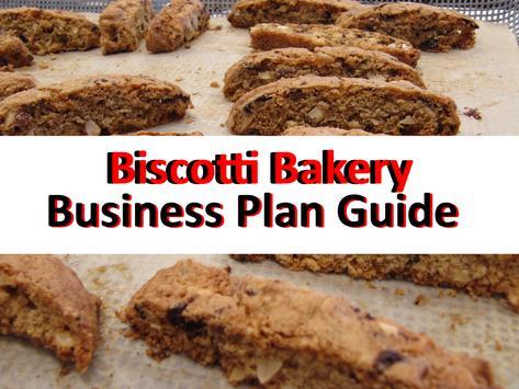 Biscotti Bakery Business Plan Guide apk screenshot