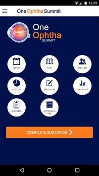 One Ophtha Summit poster