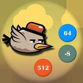 Crazy Bird: Numbers icon