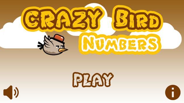 Crazy Bird: Numbers poster