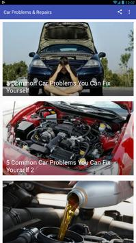 Car Problems and Repairs poster