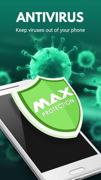 Virus Cleaner 2018 – Antivirus Boost(MAX Security) poster