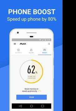 Max Security - Antivirus Boost screenshot 2