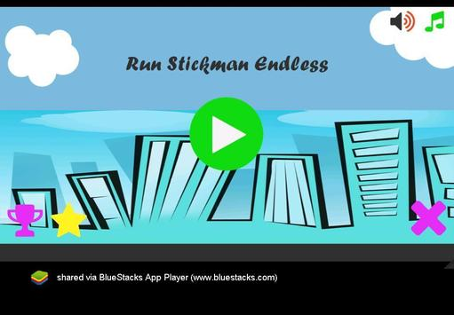 Run Stickman Endless poster