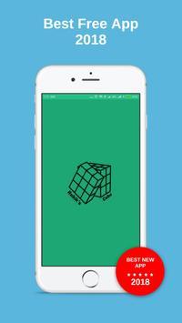 Rubik Cube Formulas poster