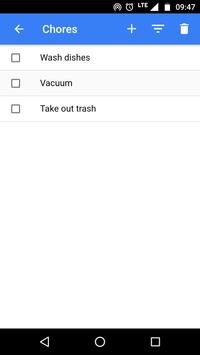 MUGL - Multi-Up Grocery List apk screenshot