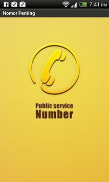 Nomor Penting poster