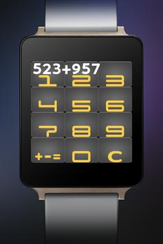 1C Calculator for Android Wear poster