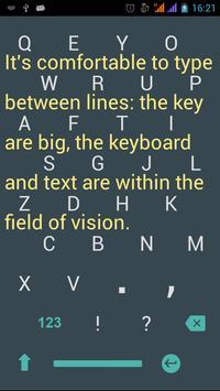 1C Big Keyboard apk screenshot