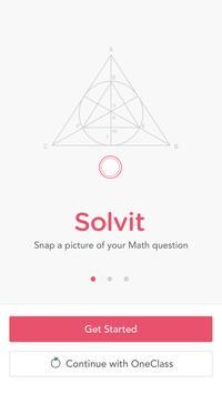 Solvit - Math Homework Help poster
