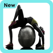 Exercise Ball Workout icon