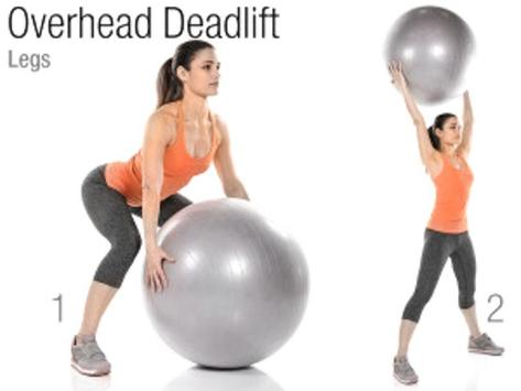 Exercise Ball Workout poster