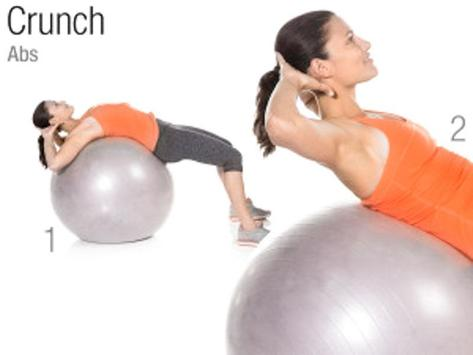 Exercise Ball Workout screenshot 1