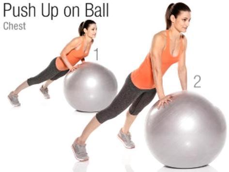 Exercise Ball Workout screenshot 2