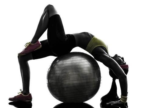Exercise Ball Workout screenshot 3