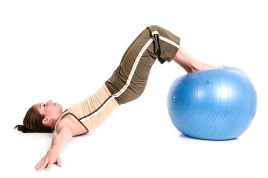 Exercise Ball Workout screenshot 4