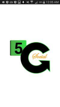 5G-Call Social poster