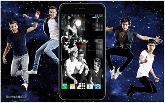 One Direction Wallpaper HD screenshot 3