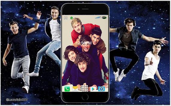 One Direction Wallpaper HD screenshot 2